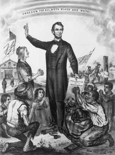 an argument against racism and slavery that led to emancipation proclamation Information and articles about the emancipation proclamation,  lincoln had ample reason to fear that if he acted against slavery  incurable national racism,.